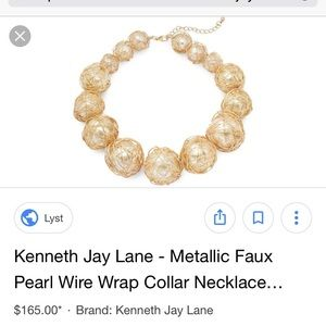 Brand new statement necklace! Kenneth Jay Lane!